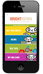 Bright Brown App